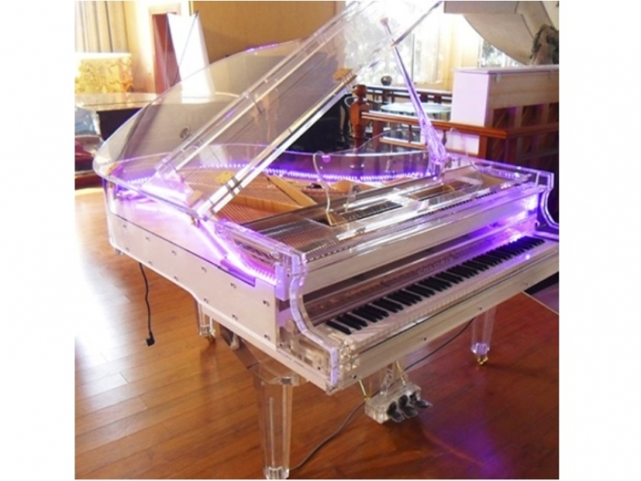 Piano de cola Transparente 160cm